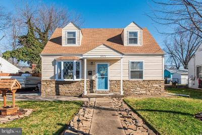 Baltimore Single Family Home For Sale: 3471 Liberty Parkway