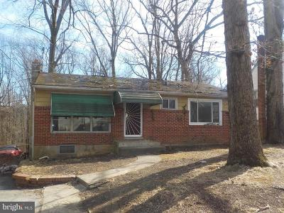Baltimore MD Single Family Home For Sale: $159,999