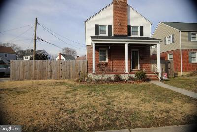 Baltimore Single Family Home For Sale: 6800 Dunhill Road
