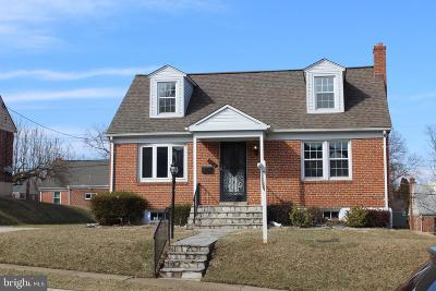 Baltimore Single Family Home For Sale: 3516 Hillsmere Road