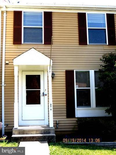 Baltimore County Townhouse For Sale: 8514 Castlemill Circle