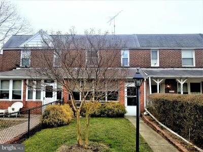 Baltimore County Townhouse Under Contract: 7507 Berkshire Road
