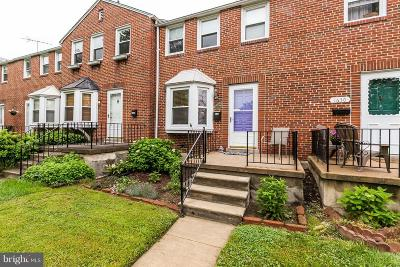 Baltimore County Townhouse For Sale: 1628 Hardwick Road