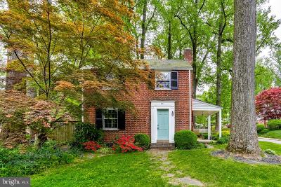 Baltimore Single Family Home For Sale: 801 Olmstead Road