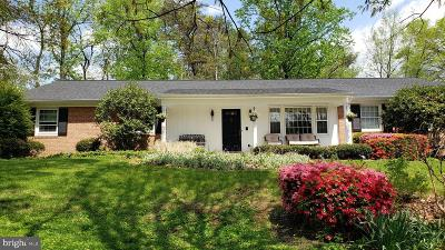 Baltimore County Single Family Home For Sale: 1801 Pot Spring Road