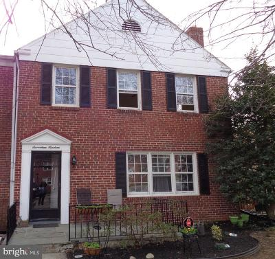Towson Townhouse For Sale: 1719 Glen Keith Boulevard