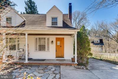 Rosedale, Towson Single Family Home For Sale: 1807 W Joppa Road