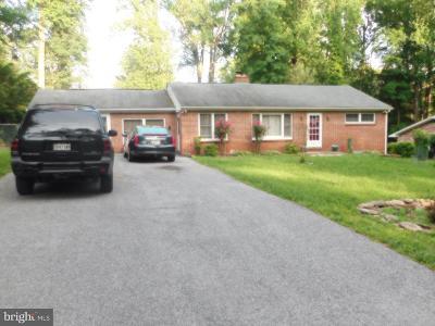 Randallstown Single Family Home For Sale: 25 Cedarhill Road