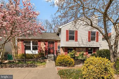 Baltimore Single Family Home For Sale: 9806 Britinay Lane