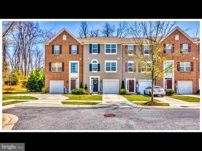 Reisterstown Townhouse For Sale: 11608 Amaralles Drive