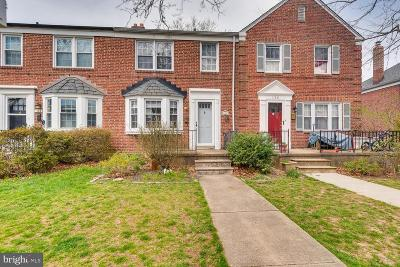 Baltimore County Townhouse For Sale: 136 Regester Avenue
