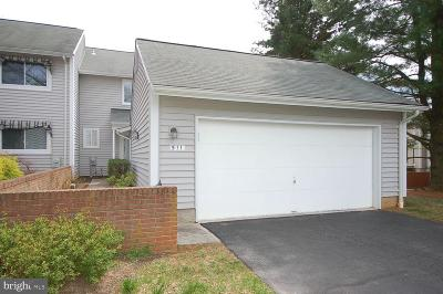 Baltimore County Townhouse For Sale: 511 Chatterton Road