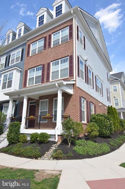 Towson Townhouse For Sale: 200 Meridian Lane