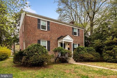 Baltimore Single Family Home For Sale: 317 Stevenson Lane