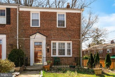Baltimore County Townhouse For Sale: 151 Dumbarton Road