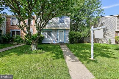 Owings Mills Townhouse For Sale: 9414 Fitzharding Lane