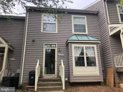 Owings Mills Townhouse For Sale: 9355 Town Place Drive