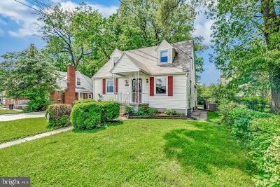 Baltimore Single Family Home For Sale: 8128 Oakleigh Road