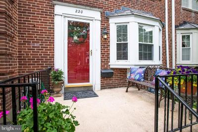 Baltimore County Townhouse For Sale: 220 Brandon Road