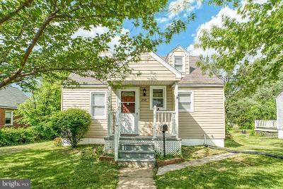 Parkville Single Family Home For Sale: 2510 Glencoe Road