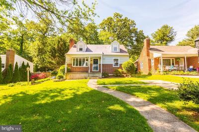 Baltimore County Single Family Home For Sale: 1017 St Albans Road