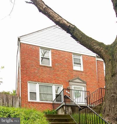 Towson Townhouse For Sale: 908 Fairmount Avenue