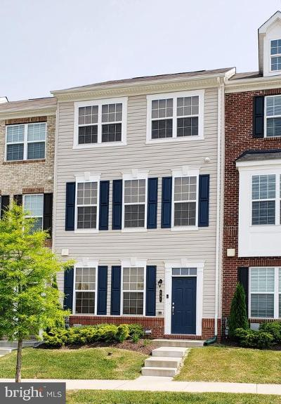 Reisterstown Townhouse For Sale: 531 Halite Drive