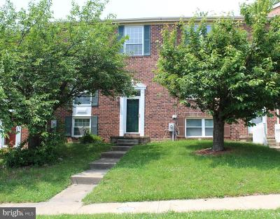 Perry Hall Townhouse For Sale: 5018 Hilltop Acres Road