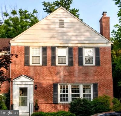 Baltimore County Townhouse For Sale: 8233 Pleasant Plains Road