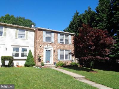 Perry Hall Townhouse For Sale: 20 Capland Court