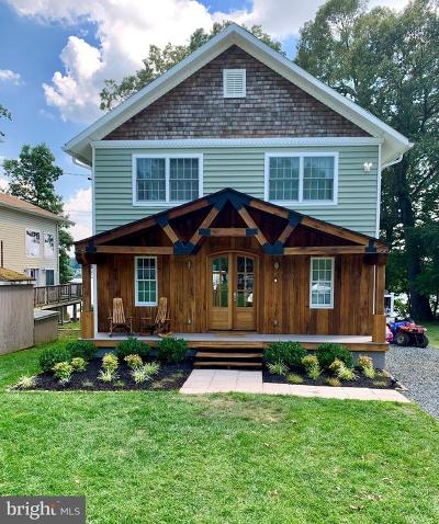 Baltimore County Single Family Home For Sale: 6037 Loreley Beach Road