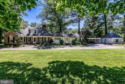 Baltimore County Single Family Home Active Under Contract: 3117 W Golf Course Road