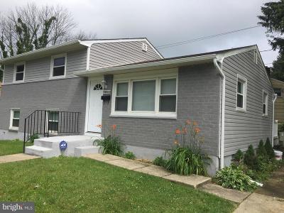 Baltimore Single Family Home Active Under Contract: 3801 Wildor Avenue