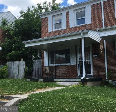 Baltimore County Townhouse For Sale: 4413 Fenor Road