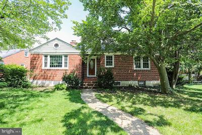 Baltimore Single Family Home For Sale: 1511 Midvale Avenue