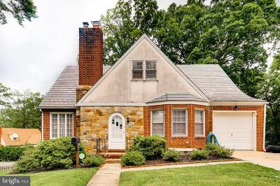 Baltimore County Single Family Home For Sale: 400 Hillen Road