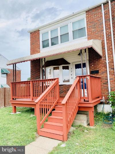 Baltimore MD Townhouse For Sale: $149,900