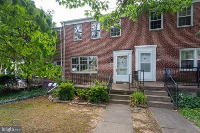 Baltimore County Townhouse For Sale: 8107 Clyde Bank Road