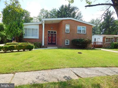 Randallstown Single Family Home For Sale: 3804 Janbrook Road