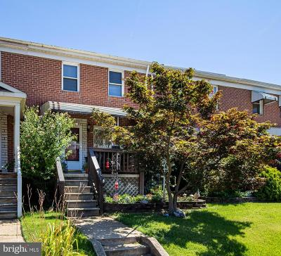 Baltimore Townhouse For Sale: 739 Seawall Road