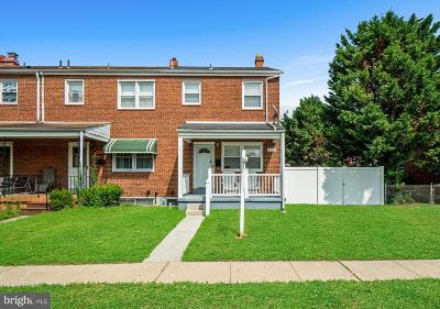 Dundalk Townhouse For Sale: 1623 Lynch Road