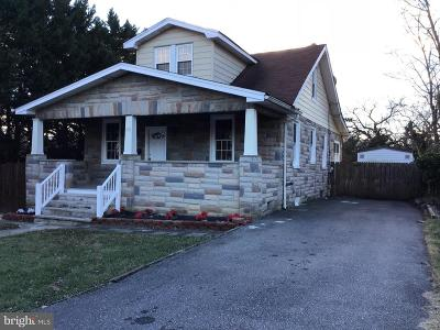 Baltimore Single Family Home For Sale: 818 Warwick Road