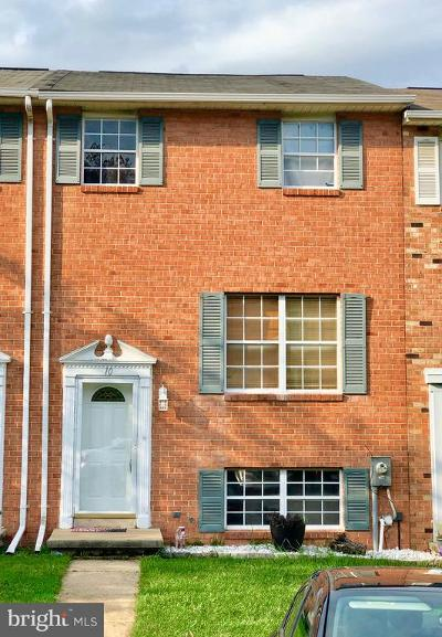 Baltimore County Townhouse For Sale: 10 Talister Court