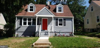 Baltimore Single Family Home For Sale: 3821 Southern Cross Drive