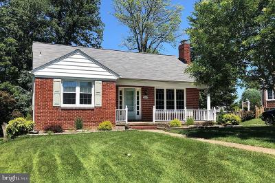 Baltimore Single Family Home For Sale: 9410 Dana Vista Road
