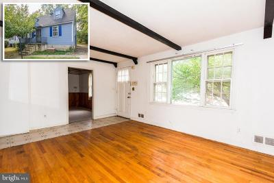 Baltimore County Single Family Home For Sale: 6804 Alter Street