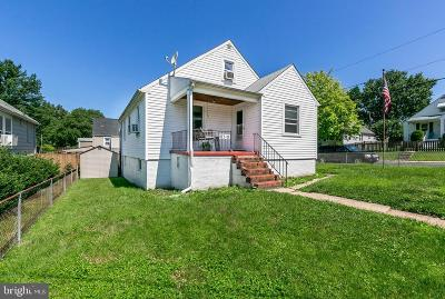 Baltimore County Single Family Home For Sale: 8318 Wilson Avenue