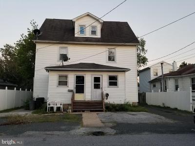 Baltimore Single Family Home For Sale: 2125 1/2 Oakland