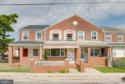 Dundalk Townhouse For Sale: 122 William Wade Avenue