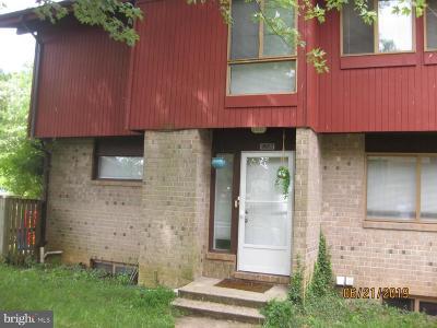 Randallstown Townhouse For Sale: 9957 Shoshone Way